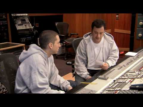 Briefcase Joe: Eminem Teaches Jimmy Kimmel to Rap
