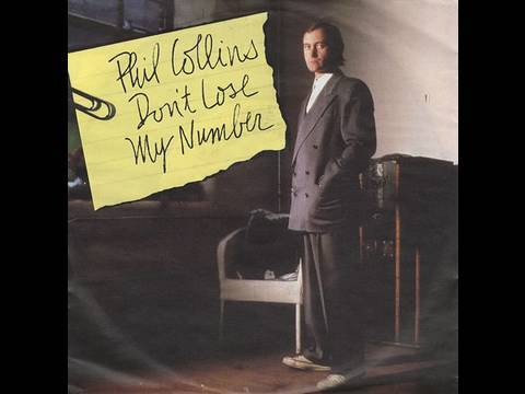 Phil Collins – Don't Lose My Number (Official Video)