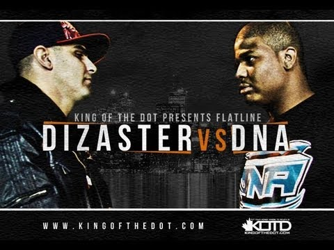 KOTD – Rap Battle – Dizaster vs DNA *Co-Hosted by DRAKE*