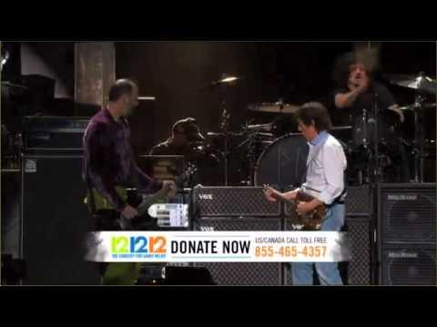 Paul McCartney & Nirvana 12.12.12. Sandy Relief Concert HD