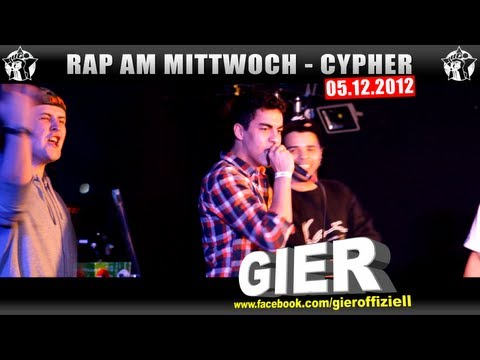 RAP AM MITTWOCH – 05.12.12 Die Cypher (1/4)