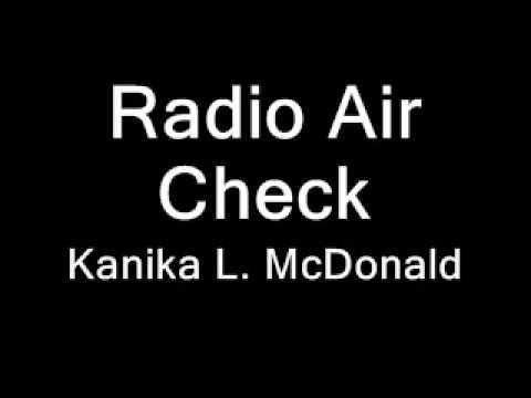 Radio Air Check (Adult/Urban Contemporary)