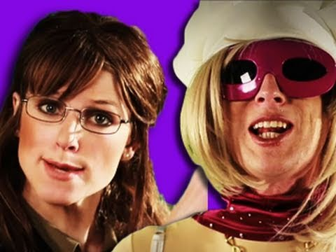 Sarah Palin VS Lady Gaga – Epic Rap Battles of History 4