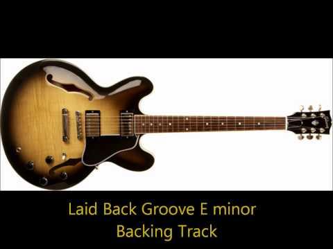 Smooth Jazz backing track, E Minor
