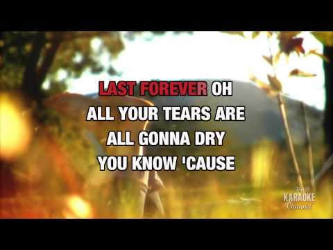 Time, Love And Tenderness in the style of Michael Bolton, karaoke with lyrics