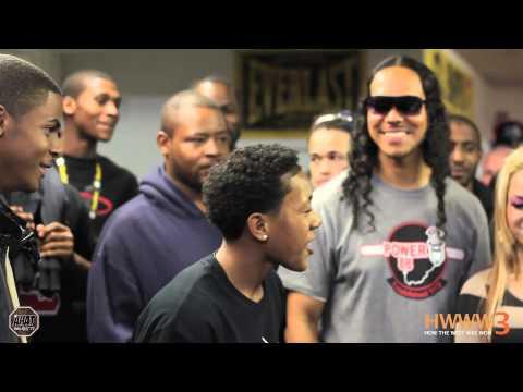 16 year old rapper Lil Sexxy vs Yung Pop rap battle   AHAT