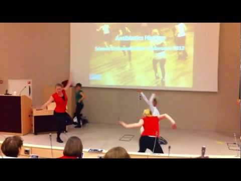 Antibiotic Hiphop performed at SCC 2012 in Leiden NL