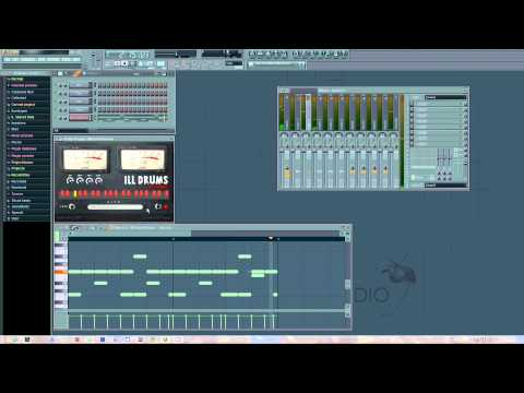 Hip-Hop VSTi Ill Drums Xtreme Demo In Fruity Loops