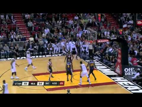 Jazz vs. Heat | Game Recap | NBA 2012-13 Season Dec 22, 2012
