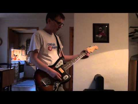 Nirvana – Scentless Apprentice Cover with Fender Kurt Cobain Jaguar – Full HD