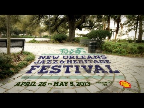 Official Jazz Fest 2013 Talent Announcement Video – 30 seconds