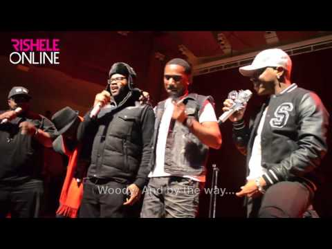 Original Dru Hill member WOODY Joins The Group on Stage in Baltimore!*