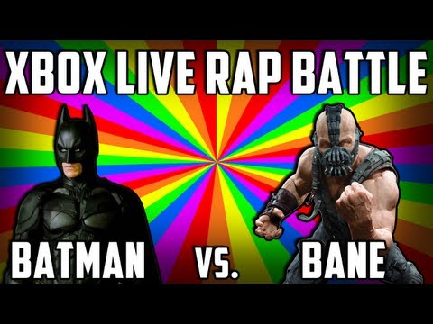 XBOX LIVE RAP BATTLE! Batman vs. Bane (Black Ops 2 Funny Moments)
