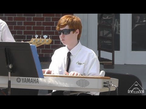 Alex's School Band Plays Hunter Art Museum – Jazz Festival