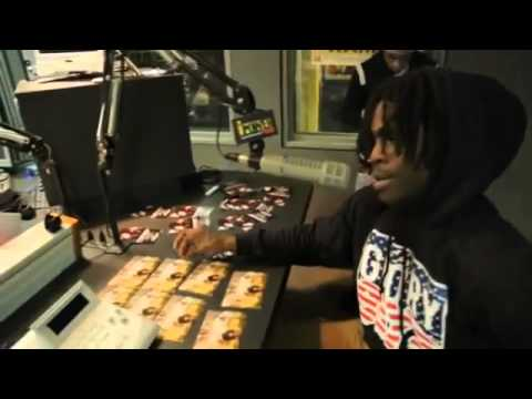 Chief Keef says 50 cent isn't his mentor & Philly & NY are the Same. Dont Do Interviews like Kanye