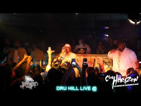 DRU HILL LIVE @ CLUB HORIZON – DJ GEMINI