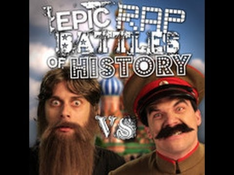 Epic Rap Battles of History 33 Lyrics. (SEASON 2 FINALE) Rasputin vs Stalin