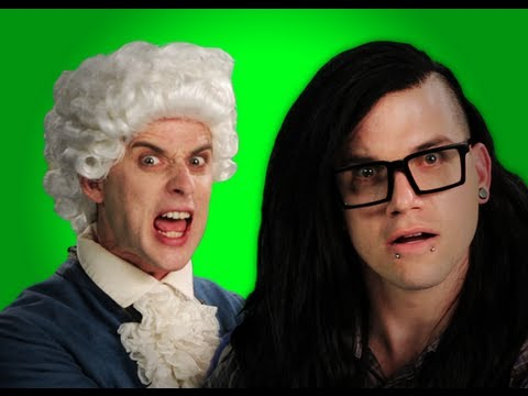 Epic Rap Battles of History – Behind the Scenes – Mozart vs Skrillex