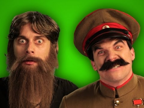 Epic Rap Battles of History – Behind the Scenes – Rasputin vs Stalin