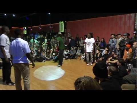 Juste Debout Spain 2013 Half Final Hip Hop – Fabrice, Icee (France) vs Richie, Kingsley (Germany)