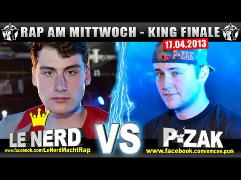 RAP AM MITTWOCH – Le Nerd vs P-Zak 17.04.13 BattleMania King Finale (5/5) GERMAN BATTLE