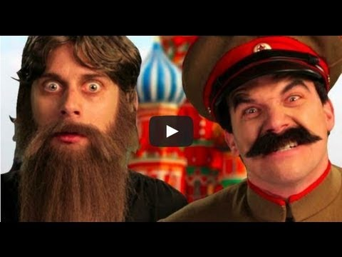 Rasputin vs Stalin – Lyric Video. Epic Rap Battles Of History Season 2 FINALE.