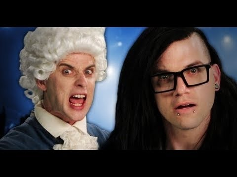 SPED UP – Mozart vs Skrillex. Epic Rap Battles of History