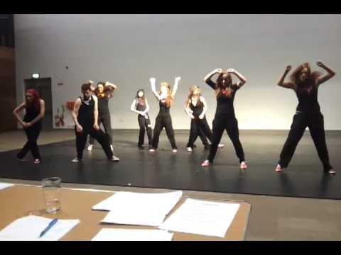 UCC Dance HipHop Intervarsities 2012 in Galway