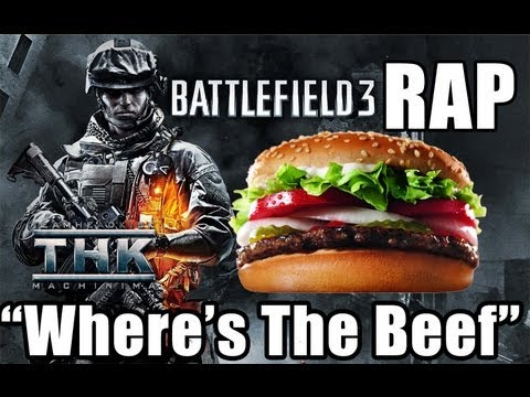 "Battlefield 3 Rap ""Where's The Beef"" TEAMHEADKICK"