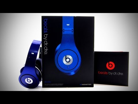 Beats By Dr Dre Beats Studio Unboxing – Blue (Colors)