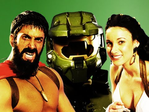Epic Rap Battles Of History – Behind The Scenes – Master Chief vs Leonidas