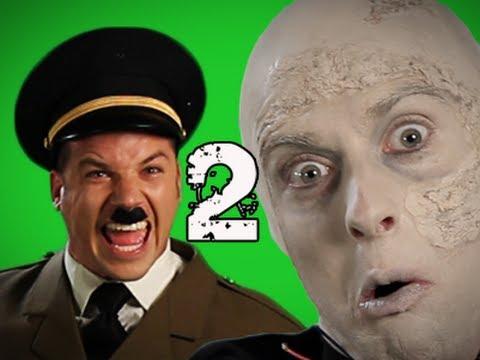 Epic Rap Battles of History Behind the Scenes – Vader vs Hitler 2