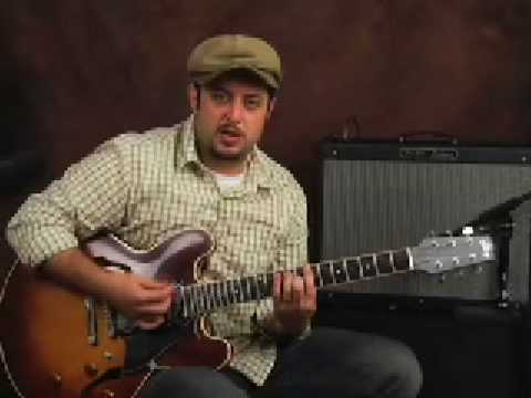 Jazz up your Blues with some swing jazzy blues guitar lesson