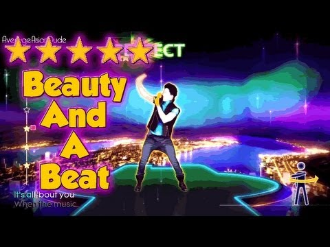 Just Dance 4 – Beauty And A Beat – 5* Stars