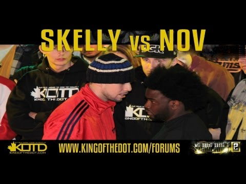 KOTD – Rap Battle – Skelly vs Nov