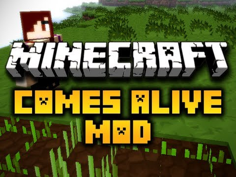 Minecraft Comes Alive Mod – MAKE YOUR KIDS DO CHORES! (HD)