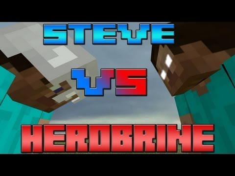 Steve vs Herobrine Rap Battle – An Original Minecraft Song