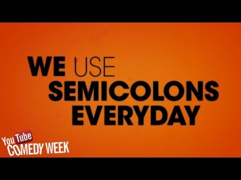 The Lonely Island – SEMICOLON (feat. Solange) LYRICS VIDEO #WACKWEDNESDAYS