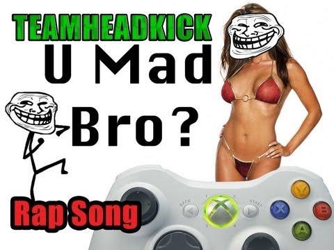 U Mad Bro Song by TEAMHEADKICK (Full Song + Lyrics)