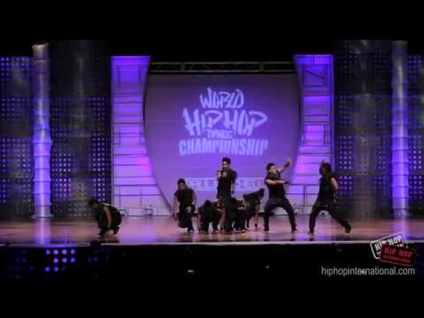 World Hiphop Championships 2012 – The Crew (Gold medalist)
