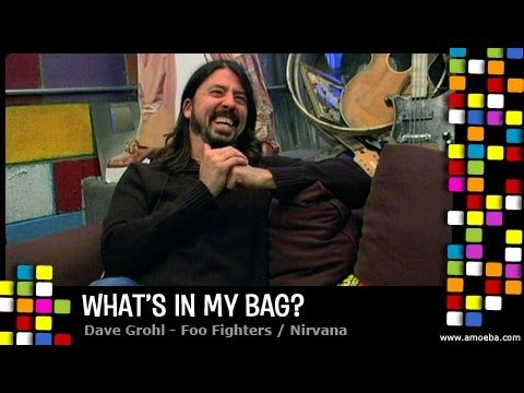 Dave Grohl – What's In My Bag?