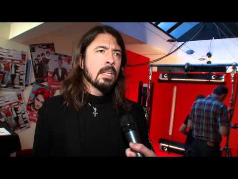 Dave Grohl at the Shockwaves NME Awards 2011 – Part One