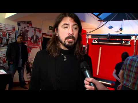 Dave Grohl at the Shockwaves NME Awards 2011 – Part Two
