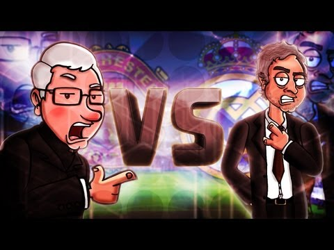 Alex Ferguson Vs Mourinho — Football Rap Battles #5