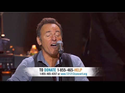 "Bon Jovi & Bruce Springsteen: ""Who Says You Can't Go Home"" Live at ""12-12-12″"