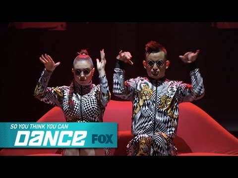 Jenna & Mark: Top 8 Perform | SO YOU THINK YOU CAN DANCE | FOX BROADCASTING