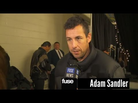 "Jon Stewart, Adam Sandler, Jimmy Fallon Backstage at ""12-12-12″ The Concert for Sandy Relief"