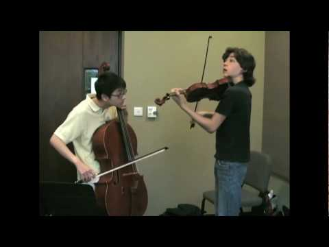 Let It Be – atles: Michael Province & Nathan Chan on Violin and Cello
