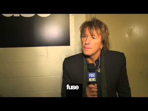 "Richie Sambora on Bruce Springsteen, Alicia Keys – ""12-12-12″ The Concert for Sandy Relief"