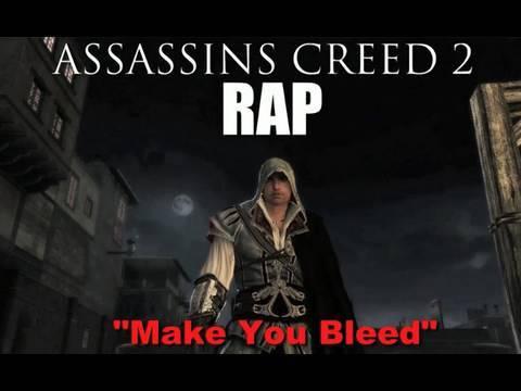 "TeamHeadKick Music Videos – ""Make You Bleed"" Assassin's Creed 2 Rap"